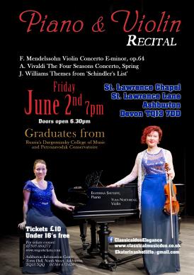 Piano & Violin Recital