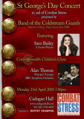 Band of the Coldstream Guards - St George's Day Concert