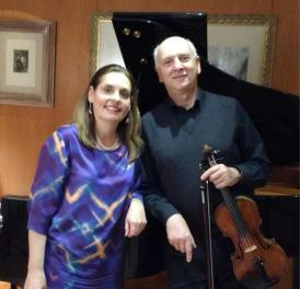 Anthony Flint (violin) & Clélia Iruzun (piano)