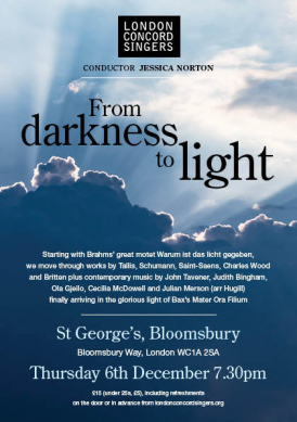 From Darkness to Light - London Concord Singers