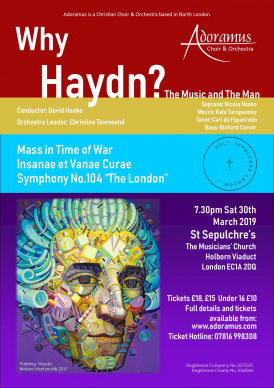 Painting 'Haydn' by Walera Martynchik