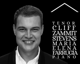 Opera Live At Home with tenor Cliff Zammit Stevens