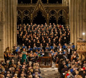 Worcester Festival Choral Society in concert at Worcester Cathedral