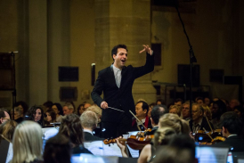 Pablo Urbina, Music Director of London City Orchestra