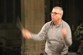 Philip Reed conducts Bach's 'St. Matthew Passion'
