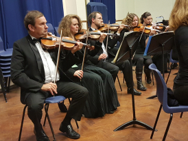 Burford Orchestra in full swing