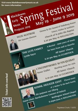 BEMP Spring Festival flyer