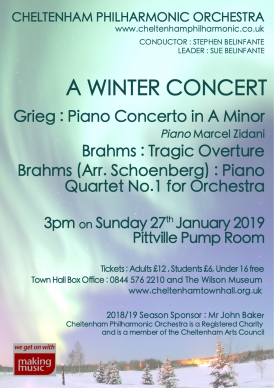 CPO Winter Concert 2018
