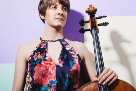 Joy Lisney, cello