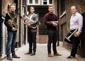 Jamie Smith, Cornet; Jonathan Bates, Tenor Horn; Michael Cavanagh Baritone; Chris Robertson Euphonium