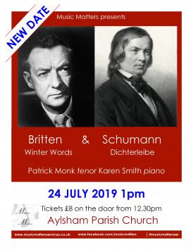 Britten & Schumann