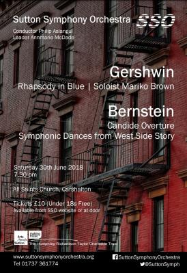 flyer - Bernstein, copland, Gershwin