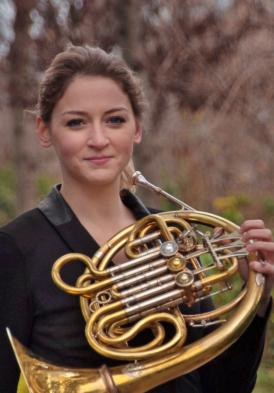 Katy Woolley (Principal Horn Philharmonia)