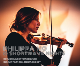 Third programme in Philippa's exploration of violin repertoire framed by the major solo works of Bach and Telemann. Philippa