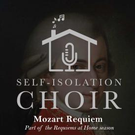 The Self-Isolation Choir Logo for Mozart Requiem concert