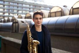 Finlay McEwen alto saxophone
