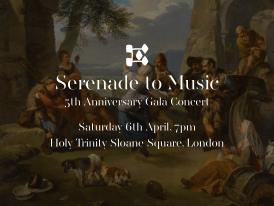 Serenade to Music: 5th Anniversary Gala Concert