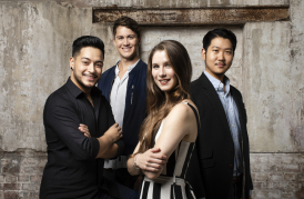 Independent Opera Scholars 2018-19, photo Benjamin Ealovega