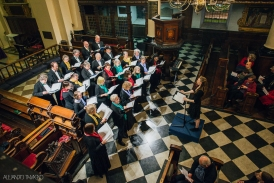 London Concord Singers, conductor Jessica Norton - photo Alejandro Tamagno