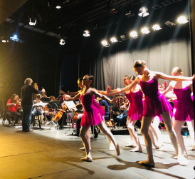 ATA dancers & ESO