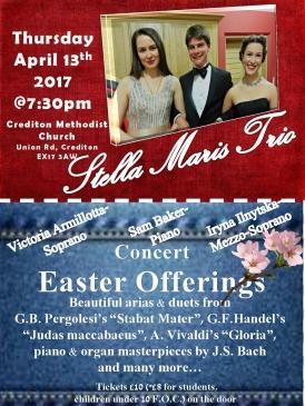 Easter Offerings_Stella Maris Trio