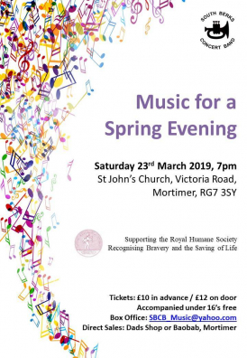 Music for a Spring Evening Poster