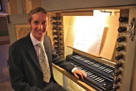 Robert Smith at the 1735 Silbermann organ of St. Petri, Freiberg