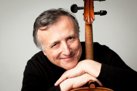 Raphael Wallfisch with the London Mozart Players