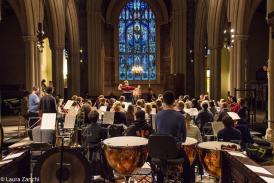 Sinfonia Tamesa in rehearsal
