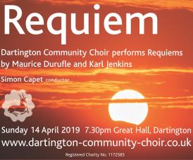 Dartington Community Choir's spring concert