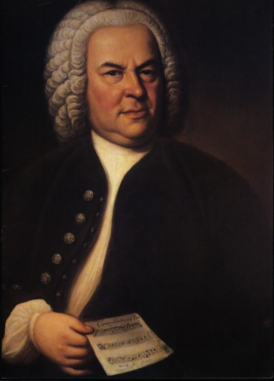 Joh. Sebastian Bach by Haussmann (1748)
