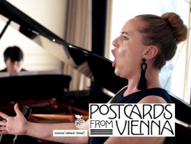 Lotte Betts-Dean and George Fu perform Mahler in the Austrian Cultural Forum in London