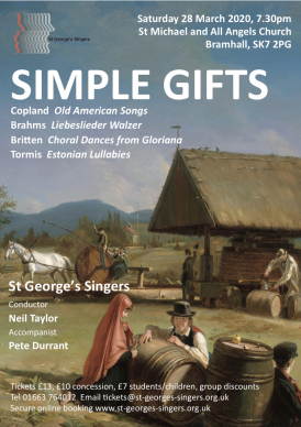 Simple Gifts poster