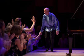 David Helfgott at Barbican Centre 2017