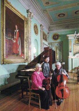 Divertimento Piano Trio, Mary Eade, Vicky Evans, Margaret Lynn