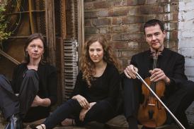 Fidelio Trio. credit; Hugo Glendenning