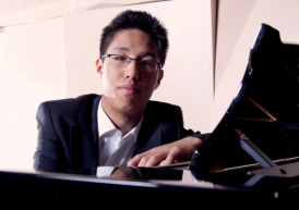 Young Australian pianist David Soo