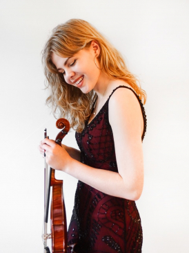 Alexandra Peel,  Purcell School concerto competition finalist