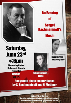 An Evening of Sergei Rachmaninoff's Music