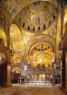 St Mark's Venice - where Giovanni Gabrieli worked