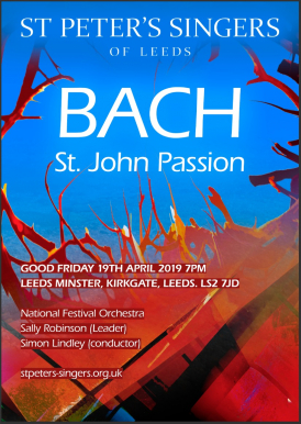 Bach - St John Passion - poster