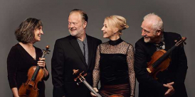 Brodsky Quartet. image credit: Sarah Cresswell