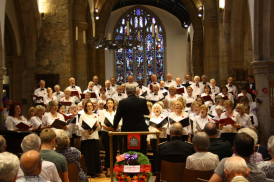 Canadian Choirs performing at All Saints Kingston in 2015