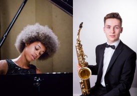Rob Burton and Konya Kanneh-Mason