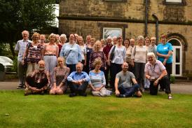Course members at the last Berwang in Britain