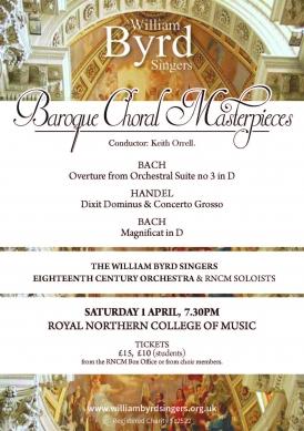 Baroque Choral Masterpieces