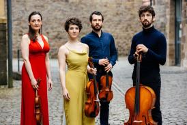 Alinde Quartett © Cornelius Tometten