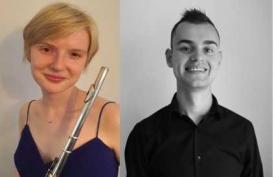 Lucy Driver (flute) Max Bilbe (piano)