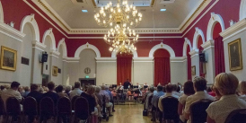 Concert in Central Hall at Darlington's Dolphin Centre