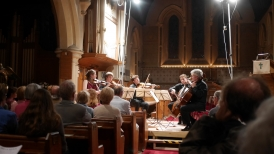 Chamber Music in candle-lit All Saints Church